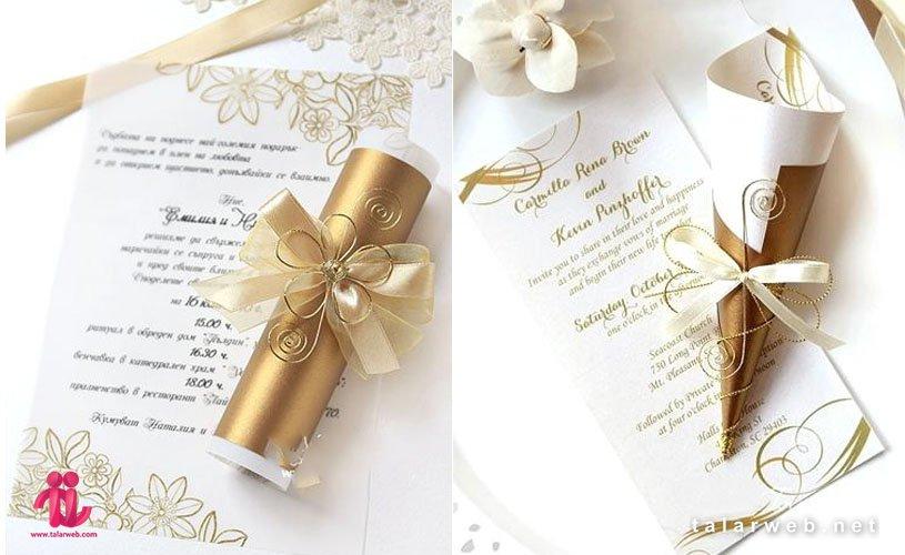 نکات مهم برای انتخاب کارت عروسی