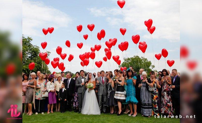مراسم عروسی خاطره انگیز
