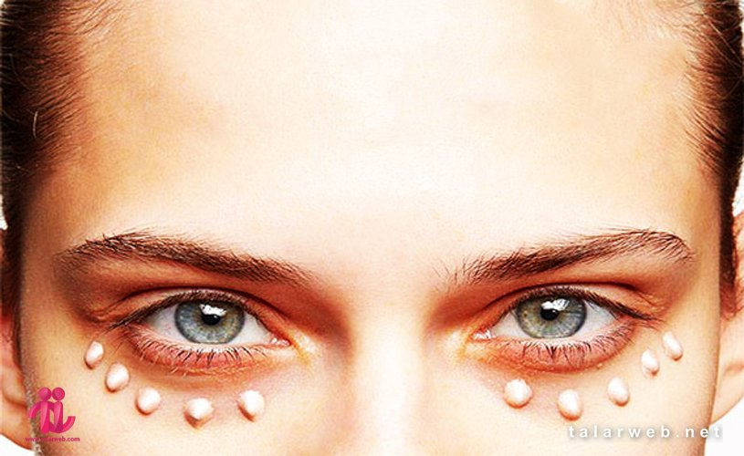 رفع سیاهی زیر چشم با آرایش
