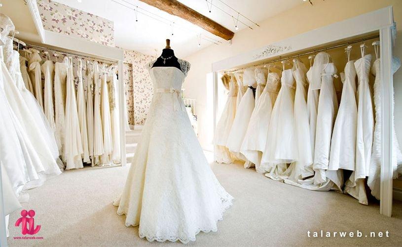خصوصیات مزون لباس عروس