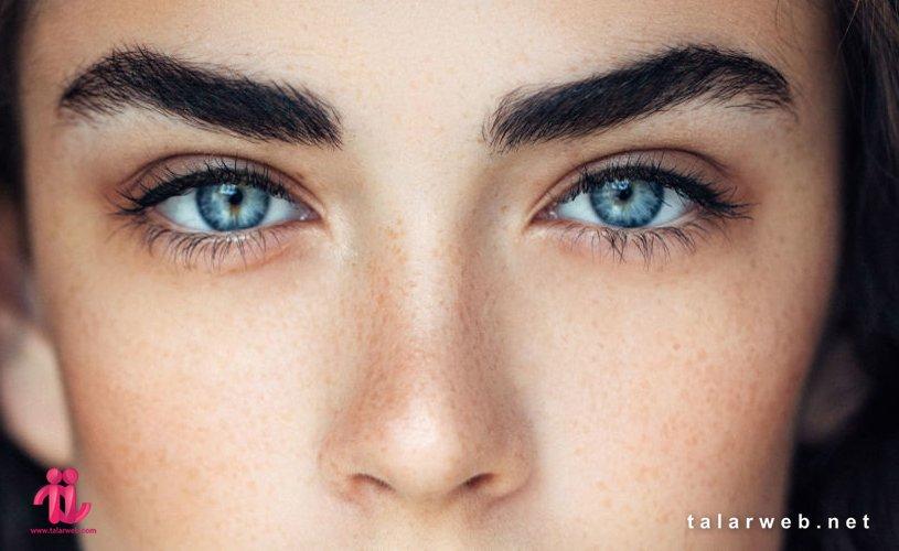 صورت زیبا بدون آرایش