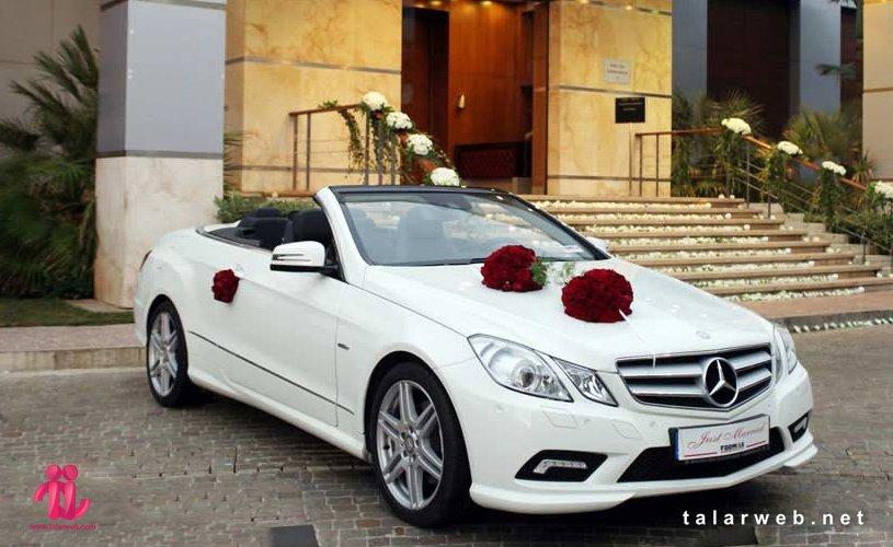 جدیدترین مدل گل آرایی ماشین عروس