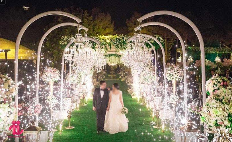 نکات مهم برای عروسی در فضای باز( باغ تالار )