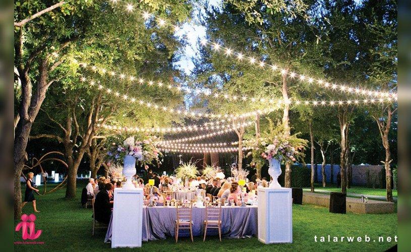 طراحی باغ عکاسی عروسی