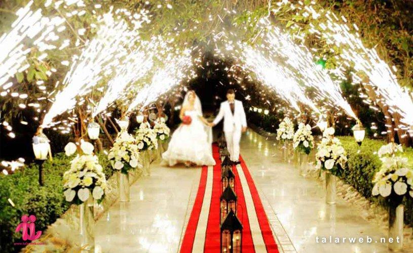 جدیدترین ایده برگزاری عروسی