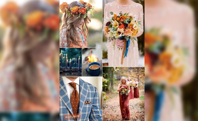 بهترین تم رنگها برای جشن عروسی