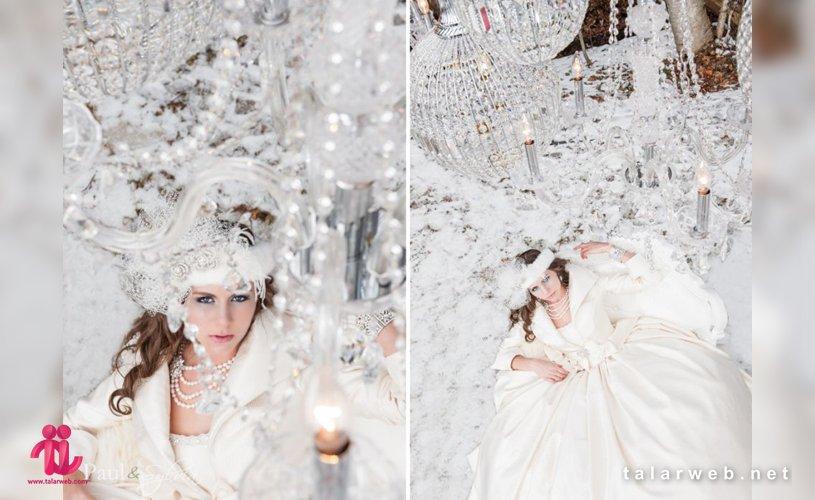 ایده برای عروسی در زمستان