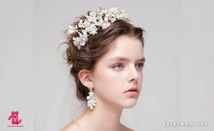 جدیدترین مدل تاج عروس