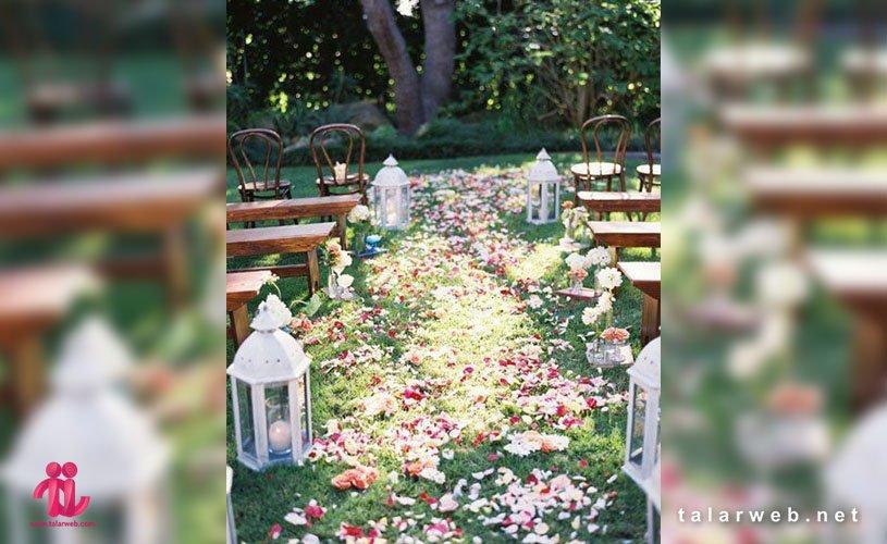 مهم ترین نکات عروسی در فصل بهار