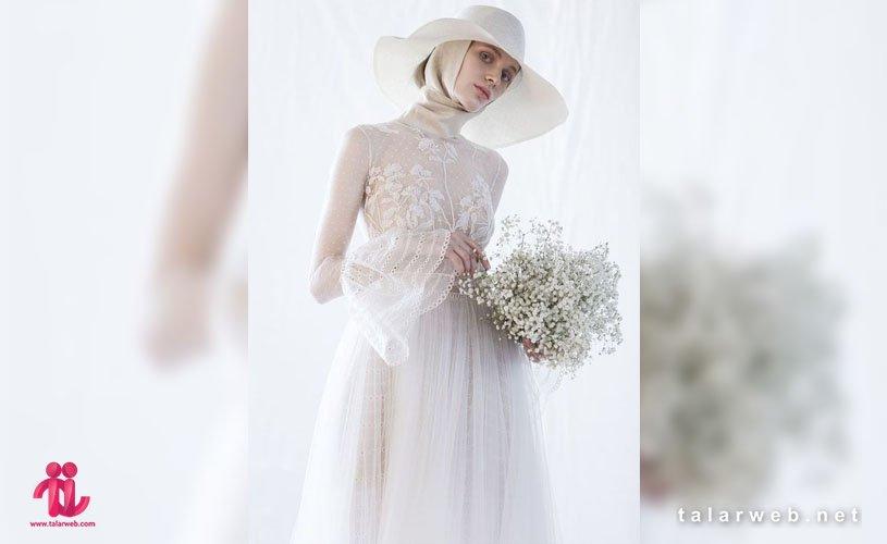 مدل لباس عروس باحجاب جدید ۲۰۱۹