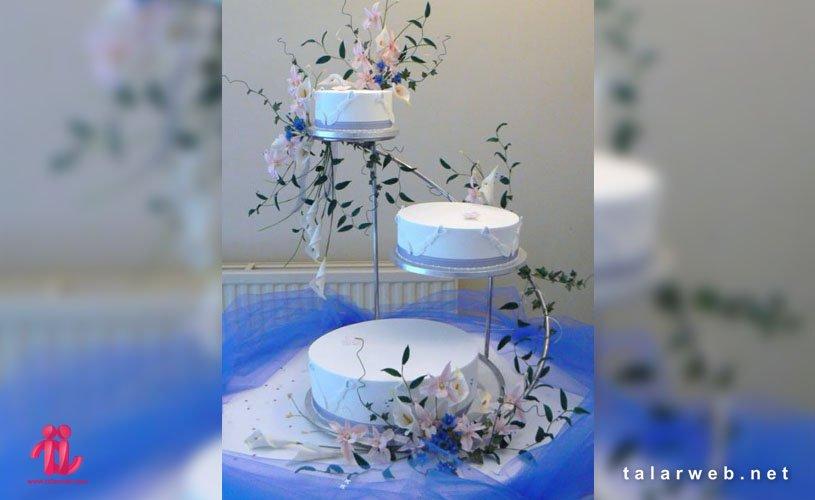 نحوه انتخاب کیک عروسی