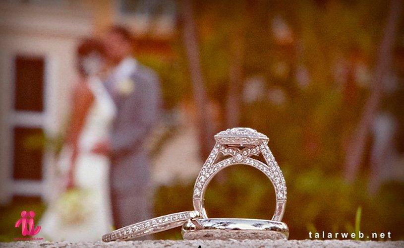 ایده عکاسی از حلقه ازدواج