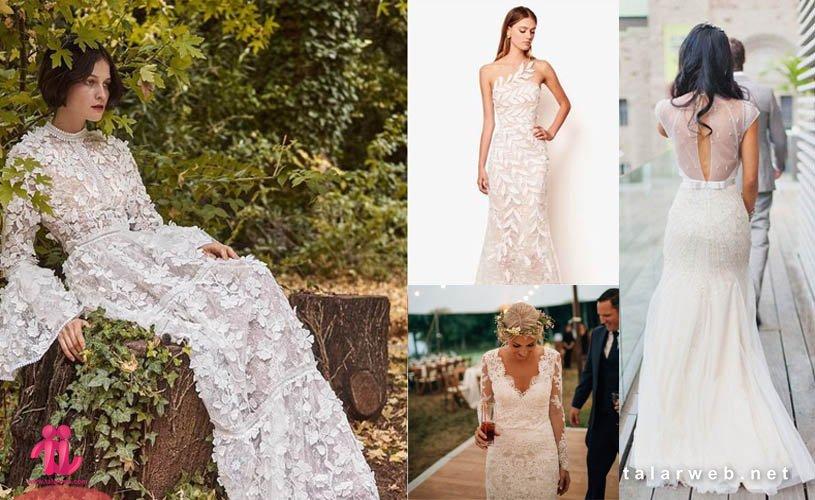 ۶ مدل برتر لباس عروس تابستانی