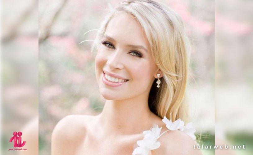 جدیدترین مدل آرایش عروس تابستانی
