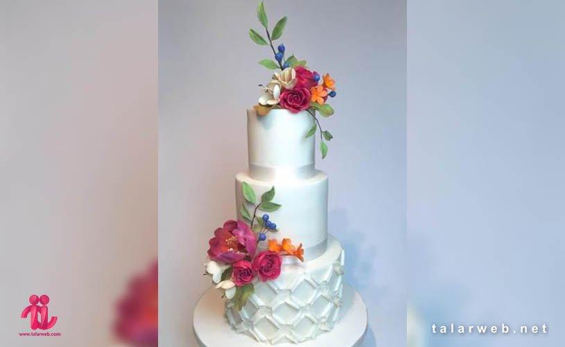 جدیدترین مدل کیک عروسی تابستانی