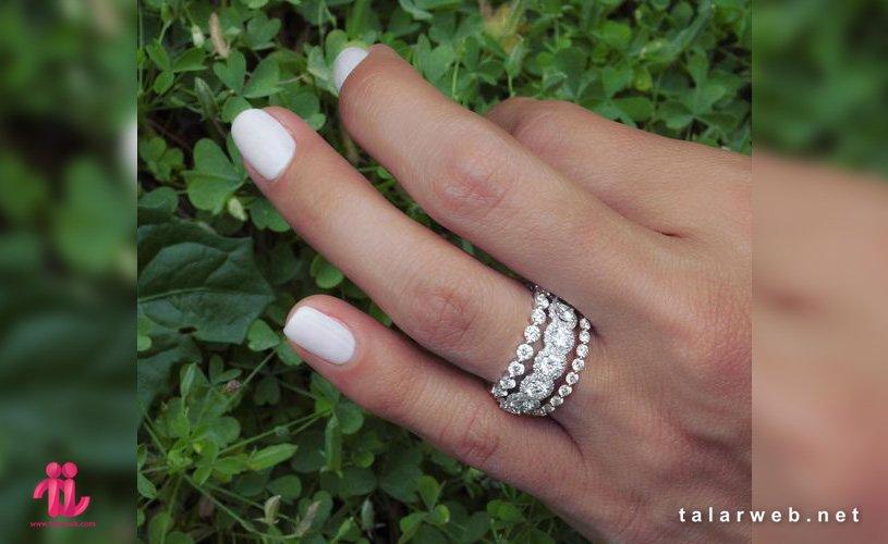 انگشتر پشت حلقه ای عروس ۲۰۱۹