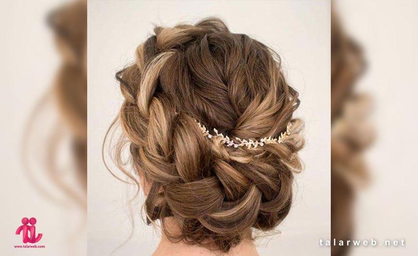 ۲۰ مدل جدید شینیون رومی عروس