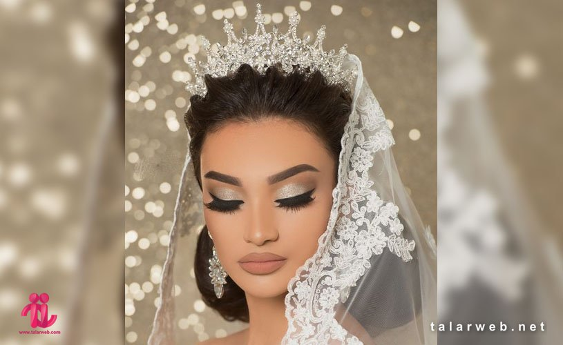 جدیدترین مدل تاج عروس ملکه ای
