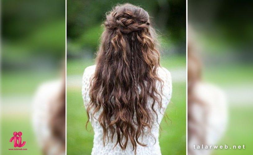 نحوه رنگ کردن موی فر