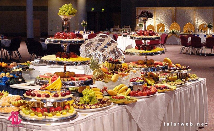 راهنمای کامل غذای شب عروسی