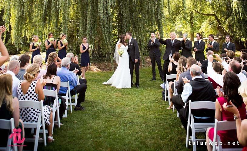 دلیل انتخاب باغ تالار بهجای تالار عروسی
