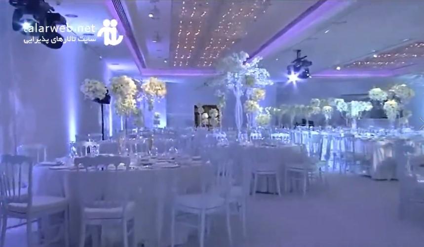 طراحی سالن برای برگزاری مراسم عروسی